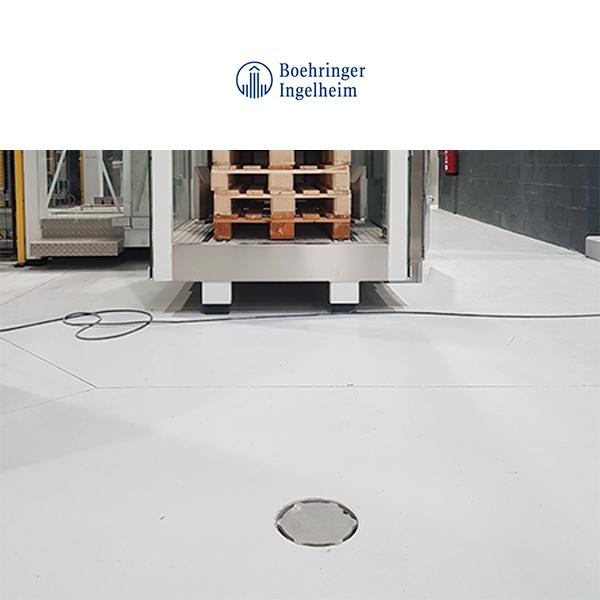 Boehringer - Sumideros Industriales para pavimento resina
