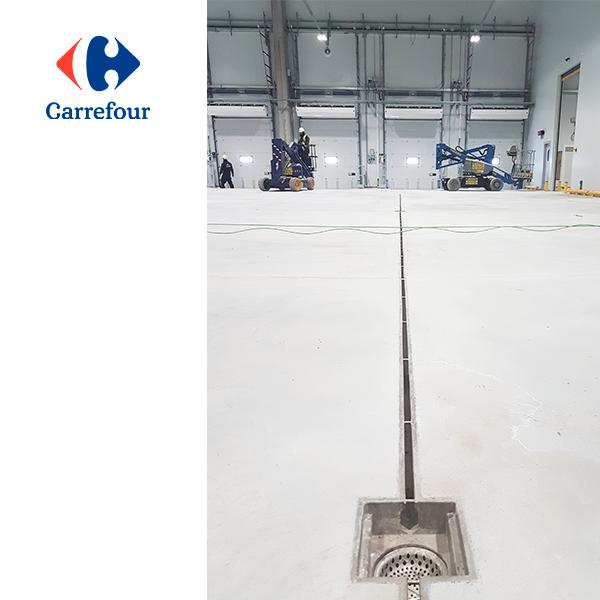 Plataforma frigorífica Carrefour - Canalina Industrial