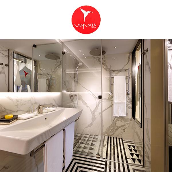 Hotel Ushuaïa Ibiza - Canal de ducha